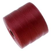 Beadsmith S-Lon Micro Macrame Twisted Nylon Cord - Scarlet Red / 287 Yard Spool