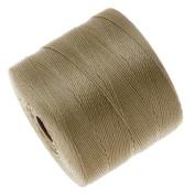 Beadsmith S-Lon Micro Macrame Twisted Nylon Cord - Sand / 287 Yard Spool