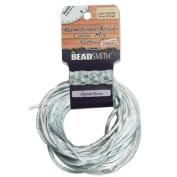 Beadsmith Satin Rattail Braiding Cord 2mm Apparition Mix 4 Colours - 3 Yds Each