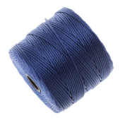 BeadSmith Super-Lon Cord - Size #18 Twisted Nylon - Periwinkle Blue / 77 Yards