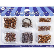 Blue Moon Bead Wardrobe Collection BeadsCaramel Assorted