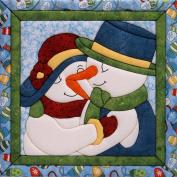 Snow Couple Quilt Magic Kit-30cm x 30cm