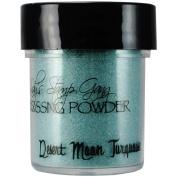 Lindys Stamp Gang LSG-EP-45 Lindys Stamp Gang 2-Tone Embossing Powder . 150ml Jars-Desert Moon Turquoise
