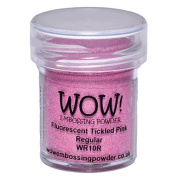 WOW! Embossing Powder 15ml-Fluorescent Tickled Pink