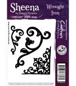 Sheena Douglass Cling Stamp Wrought Iron