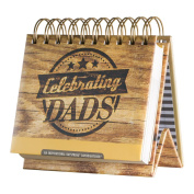 DaySpring Encouragement for Dads, DayBrightener Perpetual Flip Calendar, 366 Days of Scripture