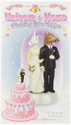 Unicorn and Horse Wedding Cake Topper by Accoutrements - 12424