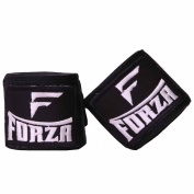 Forza MMA 460cm Traditional Handwraps - Black