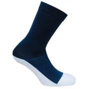 Caresox CSD 0356 Dress Classic Crew Compression Drystat Socks, Navy - Medium