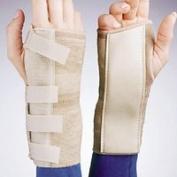 FLA Orthopaedics 22-2011SSTD Elastic Cock - Up Wrist Brace Left Beige XS