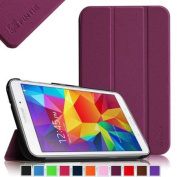 Fintie Smart Shell Case Ultra Slim Lightweight Stand Cover for Samsung Galaxy Tab 4 20cm Tablet, Purple