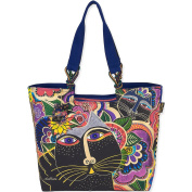 Laurel Burch Carlotta Cats Tote