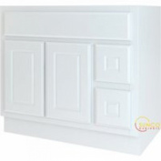 Bathroom Vanity White 36X21