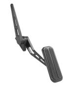 Lokar XBFG-6012 XL Black Throttle Pedal with Insert