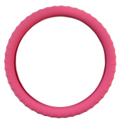 New SILICONE-Pink Steering Wheel Cover with Negative Ion Tech! By Cameleon