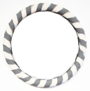 New SILICONE Zebra print steering wheel cover-Ionised !By Cameleon