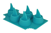 Sharks in My Glass! Silicone Shark Fin Ice Cube Tray