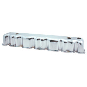 Spectre 5245 Chrome Valve Cover for AMC/Jeep 6 Cylinder
