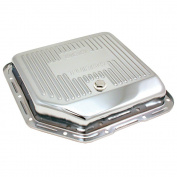 Spectre 5450 Chrome Transmission Pan for Turbo 350