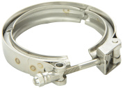 Vibrant 1491C Stainless Steel Quick Release V-Band Clamp