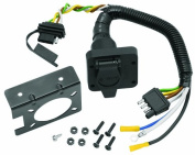 Tow Ready 20143 6-Way Round Pin Connector, 4-Flat Combo Adapter Harness, 4 x 3 x 8. 220cm