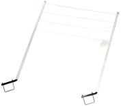Stromberg Carlson Cl-100 120cm Long Aluminium Bumper Mount Versatile Clothes Line