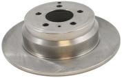 Dura International BR34061 Rear Solid Disc Brake Rotor