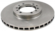 Dura International BR31239 Front Vented Disc Brake Rotor
