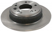 Dura International BR31105 Rear Solid Disc Brake Rotor