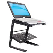 PylePro PLPTS26 Laptop Computer Stand for DJ with Storage Shelf