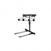 Pyle PLPTS55 Universal Portable Foldable Telescoping Height Professional DJ Laptop Stand