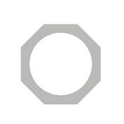 OPTIMA Polished Chrome Par 46 Gel Frame