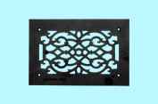 Heat Air Grille Cast Victorian Overall 8 X 12 | Renovator's Supply