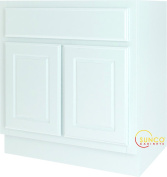 Bathroom Vanity White 30X21