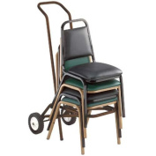 National Public Seating Deluxe Stacking Chair Cart