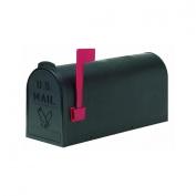 Flambeau Prod. T-R4501BL No. 1 Poly Mailbox-#1 BLACK POLY MAILBOX