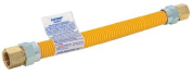 Eastman 405048 Yellow Epoxy Coated Ss Gas Connector, 1cm Fip X 1cm Fip - 1cm Od
