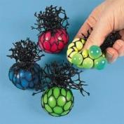 Fun Express Bulk Toy MeshCovered Mini Stress Balls
