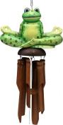 Yogi Frog Bamboo Windchime