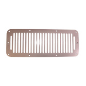 Rugged Ridge 11185.06 Satin Stainless Steel Cowl Vent Cover