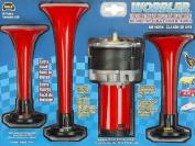 Wolo (410) Wobbler Wild Turkey Air Horn - 12 Volt, Two Tone