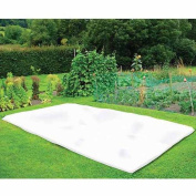 NuVue Garden Tools 110cm . x 7.6m White Synthetic Fleece Winter Blanket Roll 20299