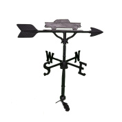 Montague Metal Products 80cm Weathervane with Swedish Iron Classic Car Ornament
