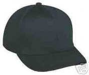 New Outdoor Cap Model UC-300CB Umpire Combo Cap Black Medium/Large