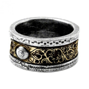 Induction Principle Ring Size T, US 9.5 by Alchemy Gothic, England