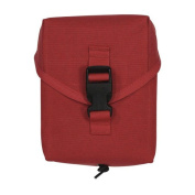 Voodoo Tactical Military IFAK Individual First Aid Kit Pouch, RED