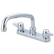 Central Brass 0125-A Double Handle Kitchen Faucet