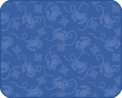 Embossed Blue Crabs Nautical Compass Kitchen Countertop Drying Mat Kay Dee