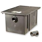 Zurn GT2702-25 Polyethylene Grease Trap 94.6ls Per Minute 23kg Capacity