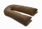 3.7m U Pillow Body/Bolster Support Maternity Pregnancy Support Pillow & Case